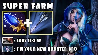 Download [Drow Ranger] 11Min First Item Aghanims Scepter To Farm & 2xULTRAKILL by Arms FullGame Dota 2 7.21c Video