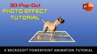 Download 3D Pop-Out Photo Effect | PowerPoint 2016 Motion Graphics Tutorial | The Teacher Video