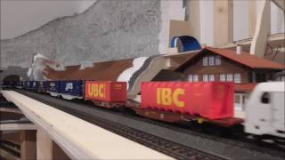 Download Schweizer Modelleisenbahn SBB BLS - H0 Crossrail/Vectron/Robel Video