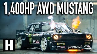 Download Ken Block's 1,400hp AWD Ford Mustang Hoonicorn V2: Straight from Gymkhana TEN! Video