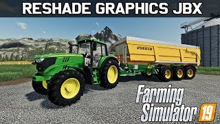 Download ✅ Farming Simulator 19 Best Graphics Mod - Reshade JBX Video