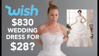 Download I Bought A $28 WEDDING DRESS On WISH | skip2mylou Video