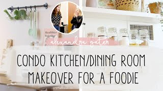 Download Making Over A Foodie's Dream Cooking Space | Cookbook Storage Ideas Video