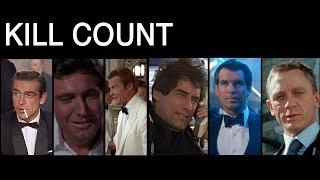 Download FILM COUNTS - James Bond Kill Count Video