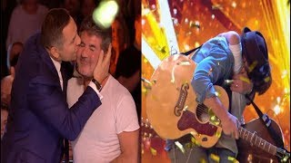Download GOLDEN BUZZER From Simon | Dream Dad & Son Duo Dazzle The Judges Video