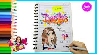 Download IDEAS PARA MARCAR CUADERNOS-Regreso a clase-Cómo marcar cuaderno de Inglés con SOY LUNA Video