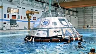 Download Orion Backstage: Navy diver Beau Lontine prepares for Orion recovery Video