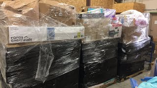 Download I bought 6 TGT pallets of overstock: unboxing part 1 Video