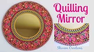 Download Quilling Mirror/ DIY Quilling Wall Mirror Video