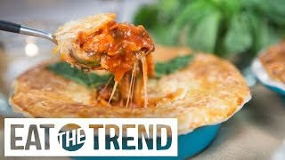 Download How to Make Pizza Pot Pie | Eat the Trend Video