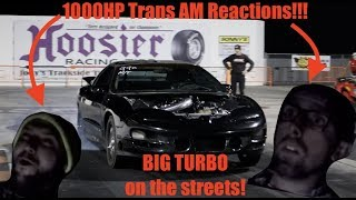 Download First Reaction to my 1000HP Trans Am on the STREETS!!!! Video
