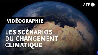 Download Les scénarios du changement climatique   AFP Animé Video