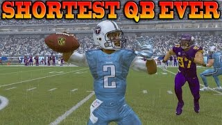 Download Madden 17 Career Mode QB Ep 2 - 5'5″ QB THROWS FOR 400 YARDS & 4 TOUCHDOWNS! Video