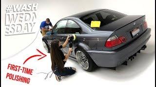 Download Morgan's Stanced e46 BMW M3 | Foam + Polish + Coating + Drive | WASHWEDNESDAY Video