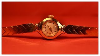 Download Fancy Gold Plated Watches For Ladies With Price Video