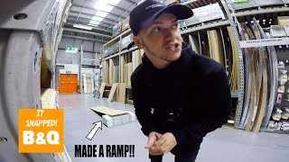 Download BMX RIDING IN B&Q! **MADE A RAMP INSIDE** Video