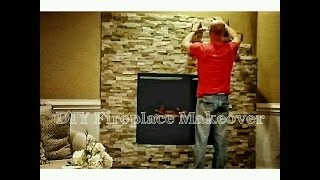 Download How to Install Stone to Makeover Your Fireplace - OurHouse DIY Video