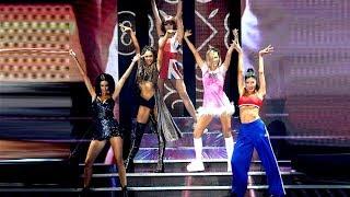 Download Charlotte Caniggia acompañada de cuatro invitadas famosas homenajearon a las Spice Girls Video