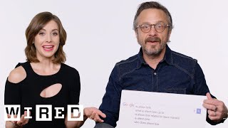 Download Alison Brie & Marc Maron Answer the Web's Most Searched Questions | WIRED Video