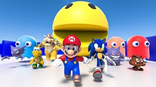 Download Pacman, Sonic, Super Mario and more [volume 1] Video