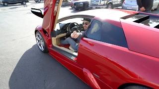 Download Picking up a LAMBORGHINI & riding that BULL hard!! Video