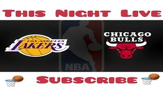 Download nba live larkers vs chicago 11/30/16 Video