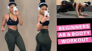 Download EASY BEGINNERS BOUNCE BACK GLUTE & AB WORKOUT Video