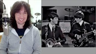 Download British guitarist analyses The Beatles early live performance in 1963! Video