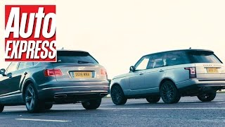 Download Bentley Bentayga vs Range Rover SVAutobiography: 1,103bhp über SUV drag race Video