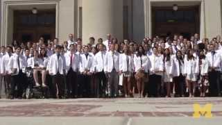 Download University of Michigan Medical School White Coat Ceremony 2015 Video