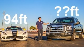 Download Can You Make A Ford F150 Stop Faster Than a Viper? Video