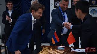 Download Aronian versus Ding Liren round one, World Cup 2017. Feel the atmosphere Video