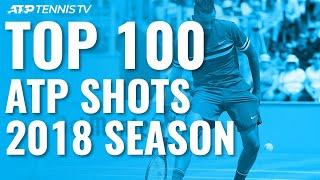 Download TOP 100 SHOTS & RALLIES: 2018 ATP Season Video