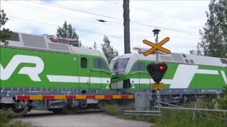 Download Mv11921 VR Vectron Sr3 3302 and 3304 on a test drive to Sköldvik Video