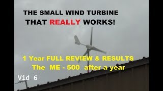 Download The best Chinese Wind turbine, total winner, 1 year+ review Video