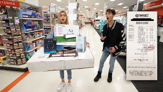 Download Anything My GIRLFRIEND Can Carry, I'll Buy It Challenge! Video