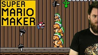 Download TAKING ZERO HITS LIKE A TOTAL BOSS [SUPER MARIO MAKER] except those other times Video