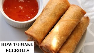 Download EGG ROLL RECIPE - HOW TO MAKE EGG ROLLS Video