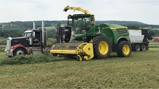 Download Chopping 2nd cutting hay on 7/12/2018 and some myjohndeere talk Video