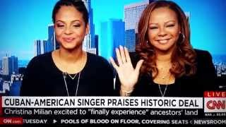 Download Black Cuban Americans: Christina Milian - Obama opening US-Cuba relations Video