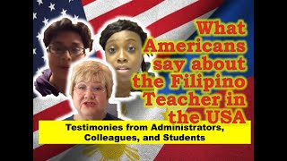 Download Filipino Teachers in the USA : A Testimony from administrators, colleagues, and students Video