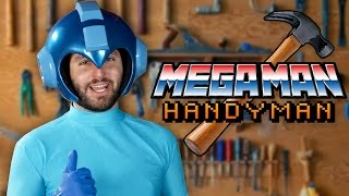 Download MEGAMAN HANDYMAN (Commercial Parody) Video