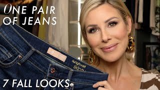 Download One Pair of Jeans, 7 Fall Looks | Dominique Sachse Video
