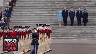 Download President Donald Trump conducts troop review at U.S. Capitol Video