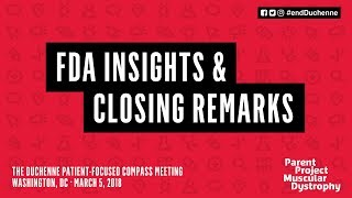 Download FDA Insights and Closing Remarks - The Duchenne Patient-Focused Compass Meeting Video