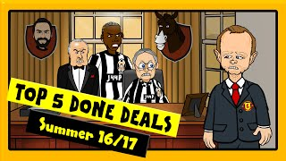 Download 442oons: Top 5 Done Deals | Summer 2016. Pogba, Stones and Batshuayi Video