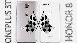 Download OnePlus 3T vs Huawei Honor 8 - Speed/Multitasking/Heat Test! Video