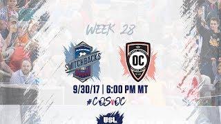Download USL LIVE - Colorado Springs Switchbacks FC vs Orange County SC 9/30/17 Video