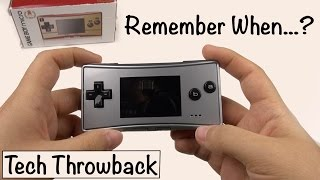 Download ″Tech Throwback″: Gameboy Micro (Episode 1) Video