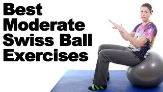 Download 7 Best Moderate Swiss Ball Exercises - Ask Doctor Jo Video